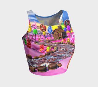 Aperçu de Pink Candyland Crop Top