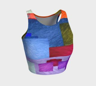 Aperçu de Abstract 1931 Athletic Crop Top