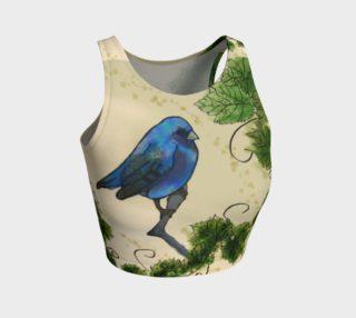 Aperçu de Blue Bird & Leaves