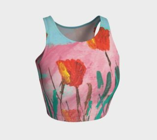 Poppy Mirth Crop Top preview