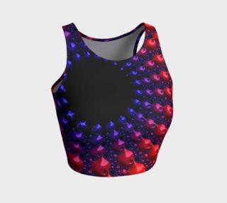 Aperçu de Red Purple Blue Fractal Spheres