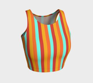 Bright Stripe Crop Top preview