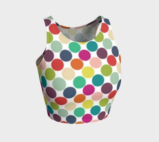 Rainbow Dots Crop Top preview