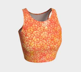Autumn foliage Athletic Crop Top preview