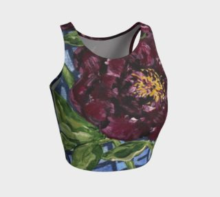 Peony Burgundy Crop preview