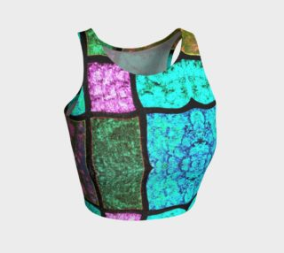 Nostalgia Stained Glass Athletic Top preview
