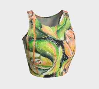 A green day Crop Top preview