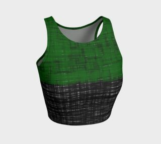 platno (green) athletic crop top preview