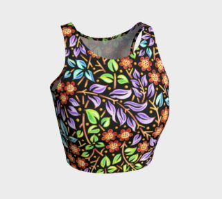 Filigree Floral Athletic Top preview