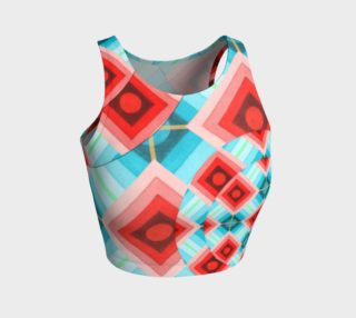 Groovy Argyle Athletic Top preview