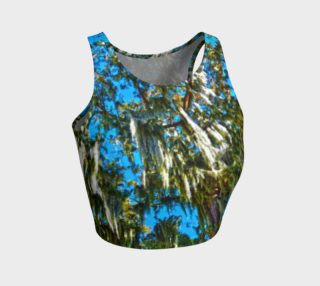Spanish Moss Athletic Crop Top preview