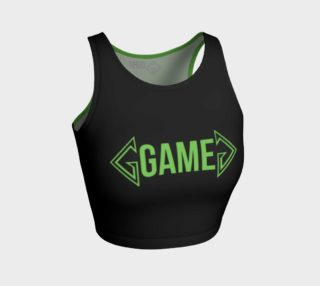 Game Green Monster CropTop preview