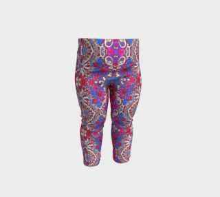 Colorful Ornate Decorative Pattern Baby Leggings preview
