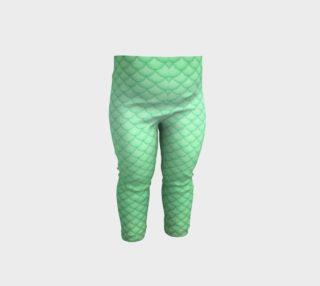 Green Mermaid Baby & Toddler Leggings preview