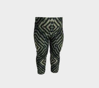 Geometric Grunge Baby Leggings Print preview