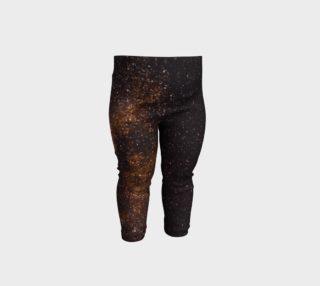 Brown Universe Baby Leggings preview