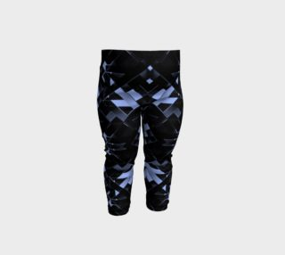 Futuristic Geometric Print Baby Leggings preview