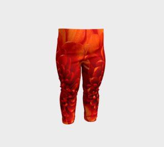 Orange glow Childrens leggings. 6 mo.1,2,3,yr sizes preview