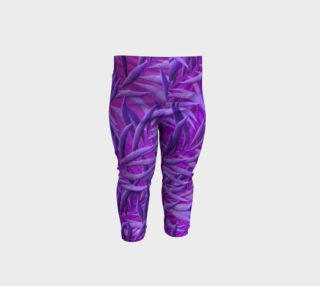Purple Feathers Baby Leggings preview