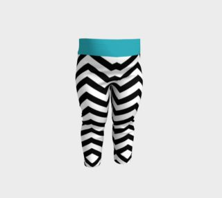 Zig-Zag Baby Leggings preview