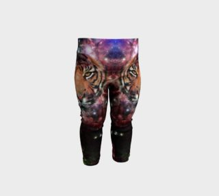 Tiger Galaxy Baby Leggings preview