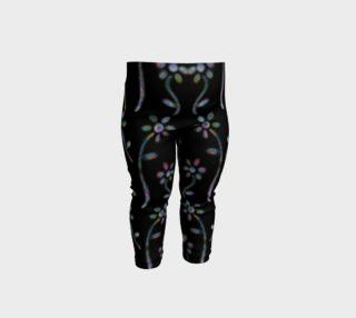 Aperçu de Neon Flower Design Baby leggings