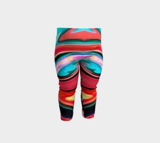 Tigerlily abstract baby leggings preview