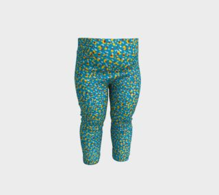 Floral Wave Toddler Leggings preview