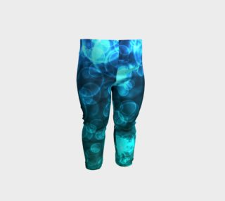 Blue Ocean Bokeh Baby Leggings preview