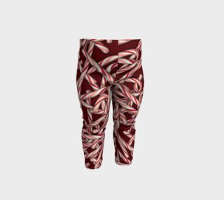 Candy Cane Pattern Baby Leggings preview