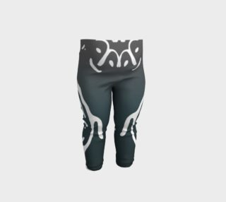 Baby leggings w/whale petro preview