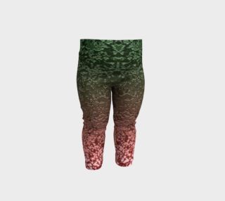 Ombre Red Green Crackle Festive Abstract Modern Pattern preview