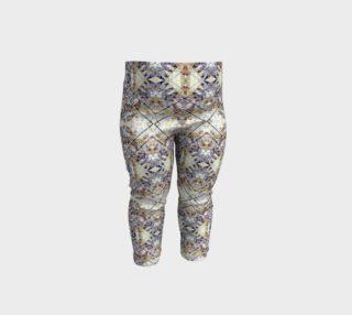 Oriental Geometric Floral Print Baby Leggings preview