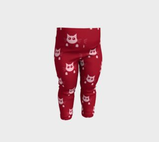Pink Kitty Baby Leggings preview