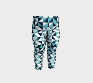 Blue Triangles Baby Leggings preview