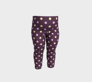 Purple Polka Dots Baby Leggings preview