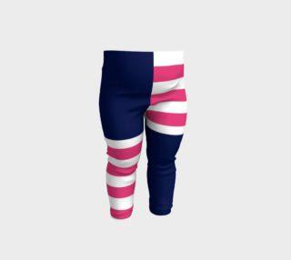 Aperçu de Blue with pink and white stripes