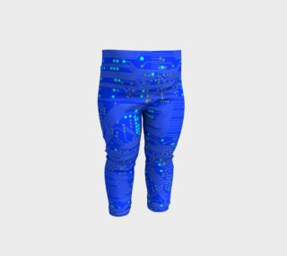 Blue Circuit Board - Baby Leggings preview