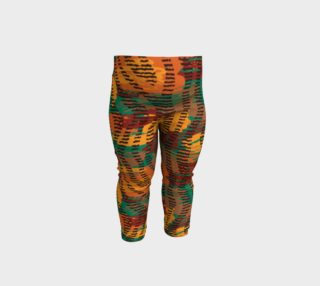 Abstract Animal Stripes Baby Leggings preview