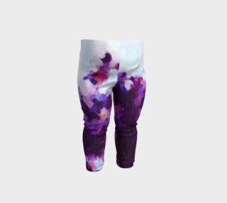 Purple Abstract Pattern - Baby Leggings preview