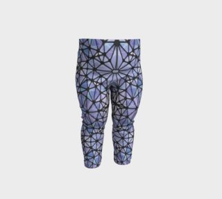 Purple and Blue Kaleidoscope Baby Leggings preview