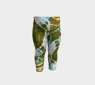 Green Geode Baby Leggings preview