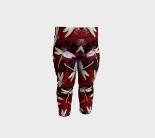Baby Dragonfly Leggings Red preview