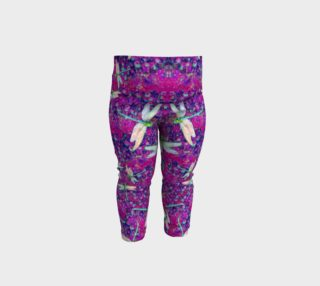 Baby Dragonfly Leggings Pink preview