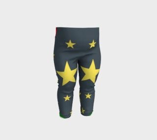Rockets & Stars Baby Leggings preview