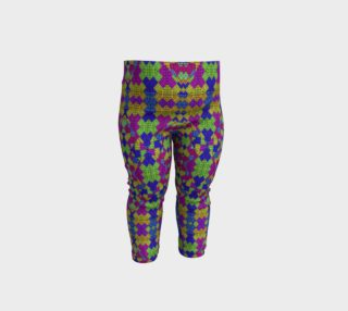 Ethnic Modern Geometric Pattern Baby Leggings preview