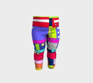 Space City Baby Leggings preview