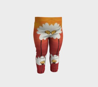 Daisy Sunset Baby Leggings preview