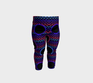 Funky Black Holes Baby Leggings preview