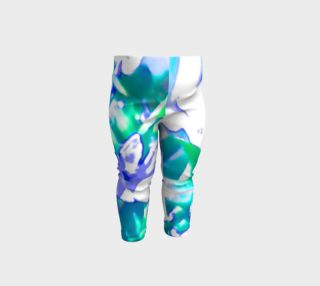 baby flower leggings preview